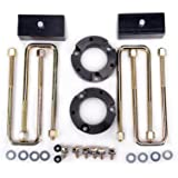 """3""""F + 2""""R Full Leveling Suspension Lift Kit for Tacoma, 3 Inch Lift Front and 2 Inch Lift Rear Forged Strut Spacers Fit for 2"""