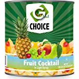 Global Choice - Fruit Cocktail in Light Syrup - 106 oz - JUMBO Size