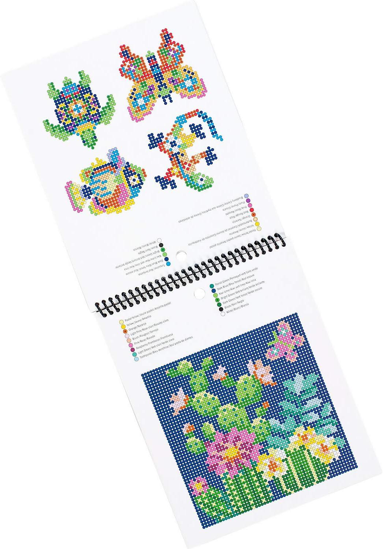 Perler 80-22871 Mini Beads Pattern Pad 120 Designs