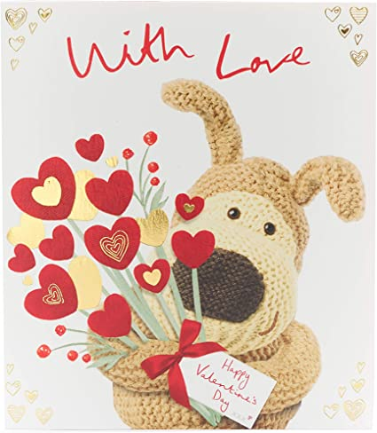 Wife Valentines Day Card Boofle Valentines Day Card Cute Valentines Day Card for Wife Valentines Day Card for Her