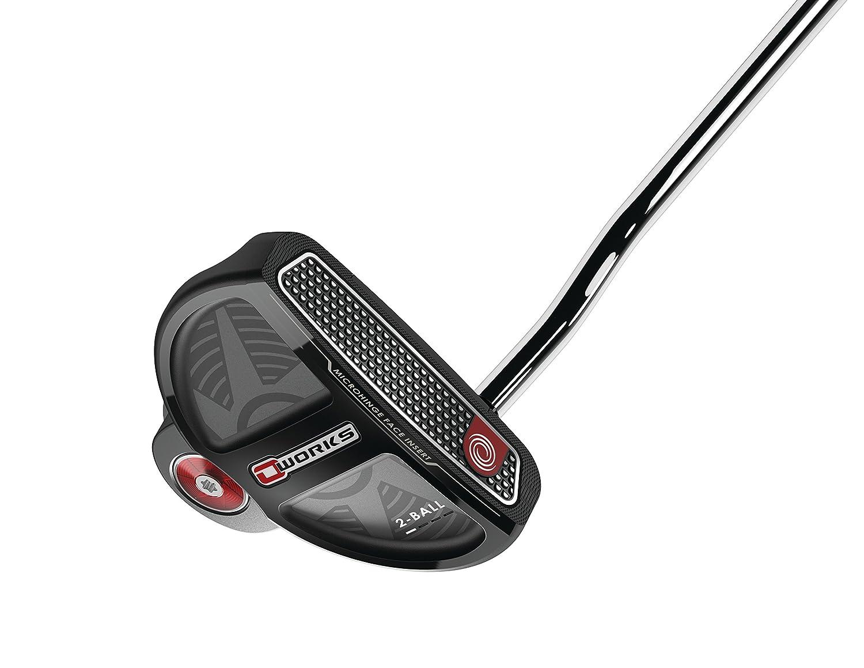 Callaway Golf Odyssey Works 17スチール2ボールWinnグリップ33 '長パター、右手 B079V1DYRK
