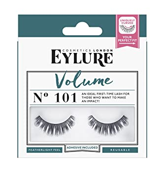 44461dc8f11 Eylure Strip Lashes No.101 (Volume): Amazon.co.uk: Beauty
