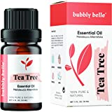 Bubbly Belle Tea Tree Essential Oil, 100% Pure Natural Undiluted, Therapeutic Grade for Aromatherapy, Diffusers, Topical…