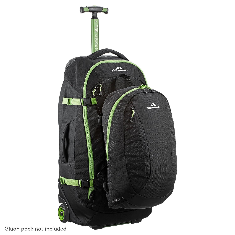 f4dd7edac Kathmandu Hybrid 50L Backpack Harness Wheeled Luggage Trolley v3-50LTR:  Amazon.co.uk: Sports & Outdoors