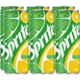 Sprite Soft Drink in Can, 245 ml (Pack of 6)