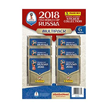 a72ae1569 Panini FIFA World Cup 2018 Sticker Multipack  Amazon.co.uk  Toys   Games