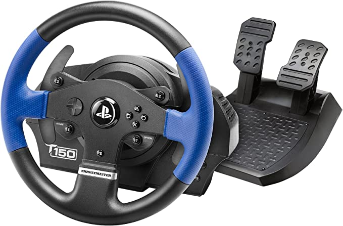 Thrustmaster T150RS - Volante - PS4 / PS3 / PC: Thrustmaster: Amazon.es: Electrónica