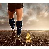 VeloChampion Medias de Compresión Recuperación para Hombres y Mujeres (20-30 mmhg) Ideal para Dolor de Espinillas, Deportes, Viajes, Dolor de Piernas, Varices, Trombosis Venosa Grave, Embarazo