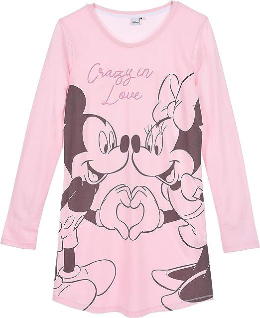 Camicia da notte in cotone Minnie Mouse