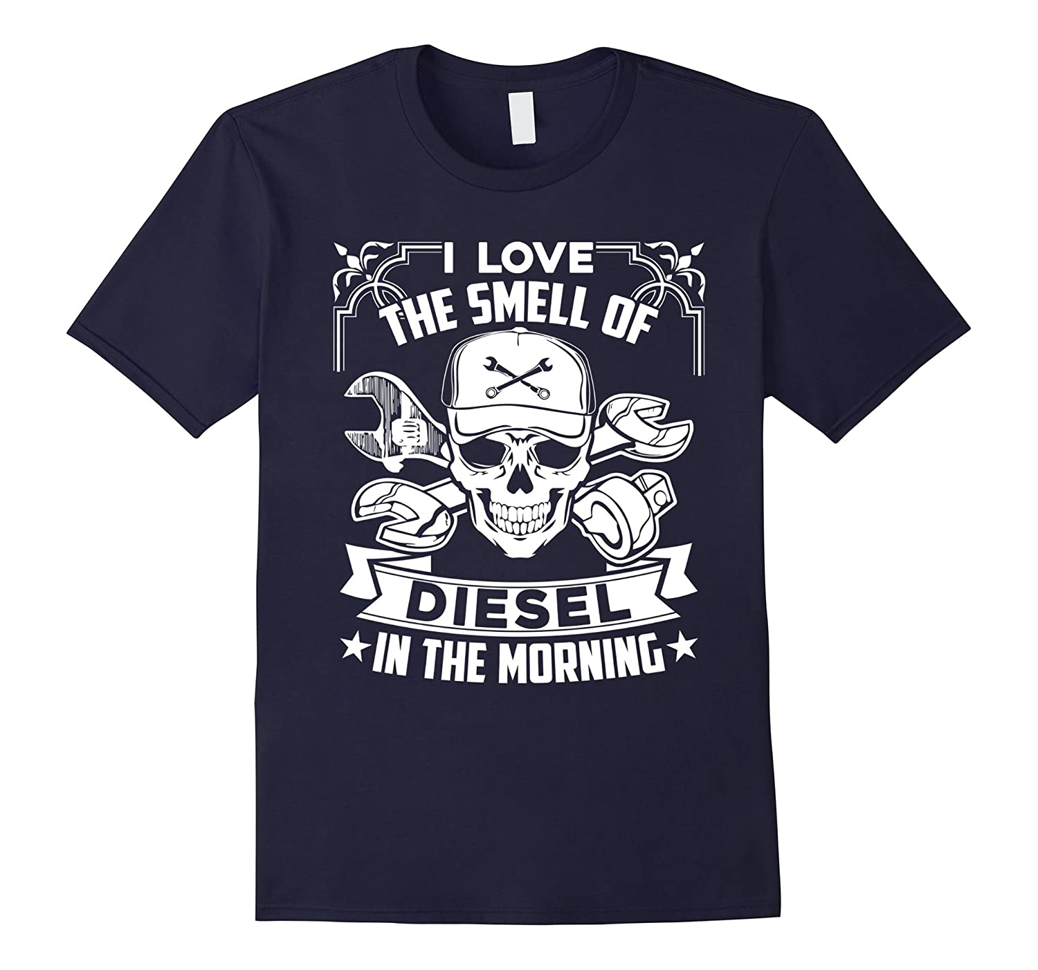 Diesel Mechanic Shirt - I Love Diesel Mechanic Tee Shirt-FL