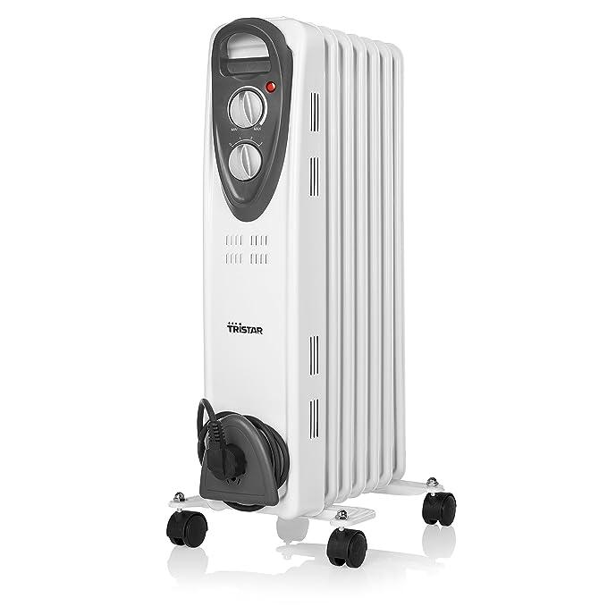 Tristar KA-5087 Radiador eléctrico - Aceite - 7 cuerpos - 1500 W: Amazon.es: Bricolaje y herramientas