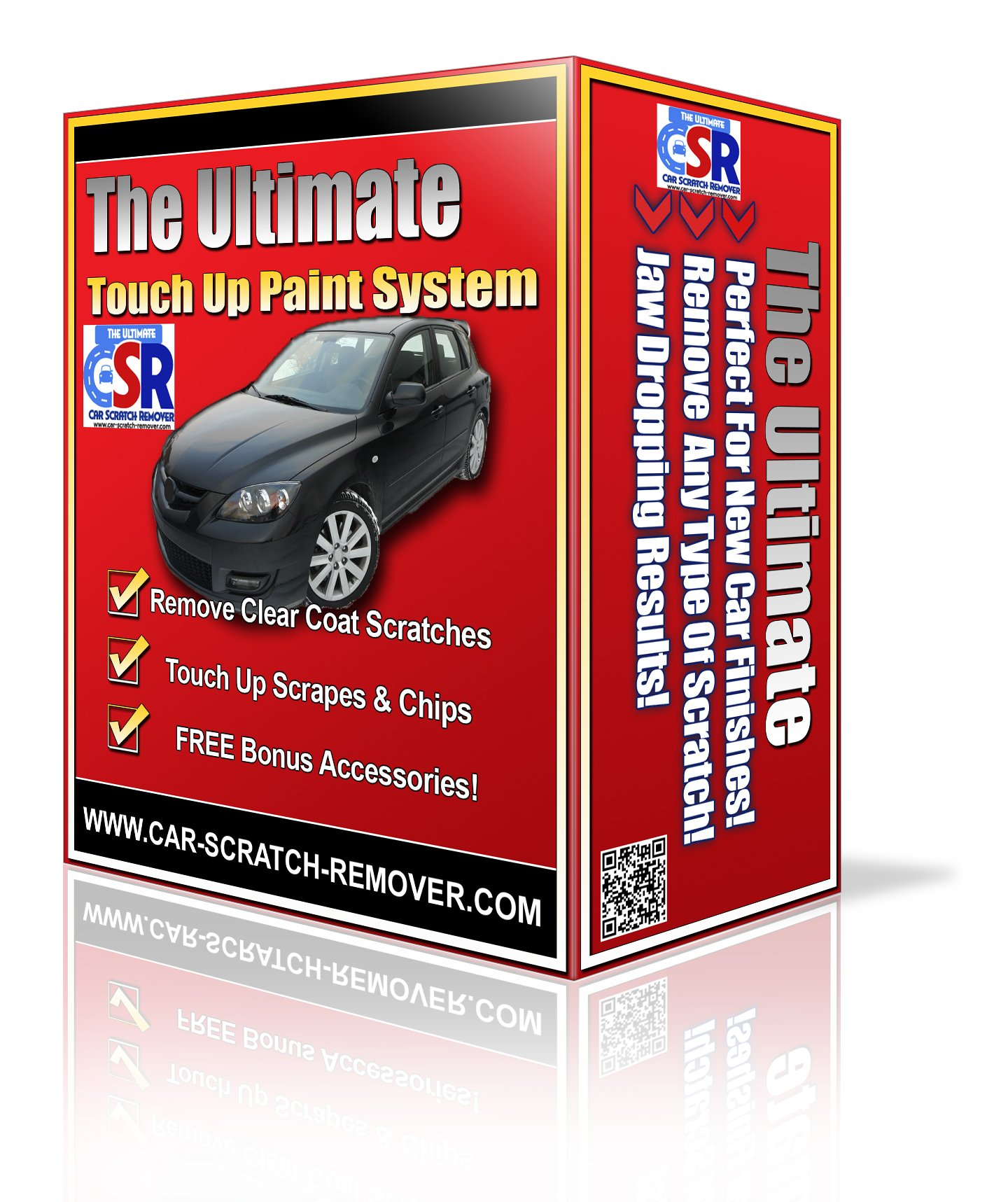 The Ultimate Car Scratch Remover plus Touch Up Paint Kit
