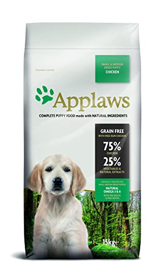 Applaws Natural Complete Dry Dog 15kg Small Medium Breed Puppy