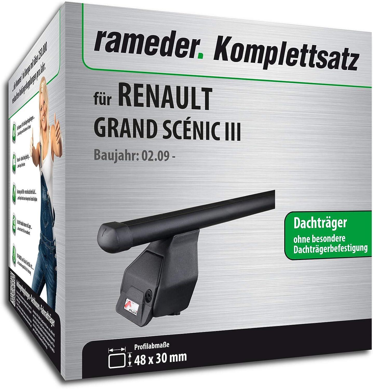 Dachträger AURILIS ORIGINAL Renault Scenic III Grand Scenic III ab 09 Aluminium