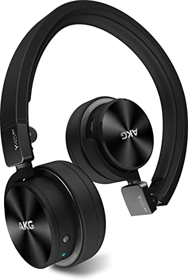 Amazon Com Akg Y45bt Black Mini On Ear Wireless Bluetooth Headphone With Nfc And By Pass Cable Black Home Audio Theater