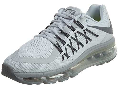 Nike Womens Air Max 2015 Shoes-Pure PlatinumCool Grey-6.5