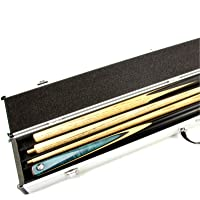 2 CUE ALUMINIUM Pool Snooker Keu Case Voor Centre Joint Cues - HOLDS 2 CUES