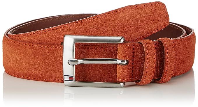 7bc2253cc5e Tommy Hilfiger Men's NEW BOSTON BELT Belt, Orange (arabian Spice-pt 916)