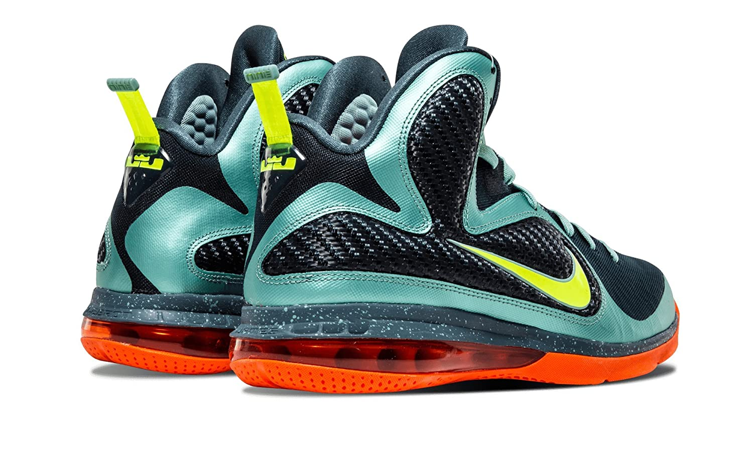 size 40 93a56 4251f Amazon.com   NIKE Lebron 9 Cannon Miami South Beach   Basketball