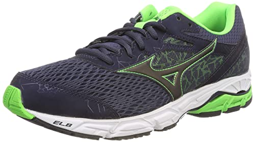 57757b7ce Mizuno Men's Wave Equate 2 Low-Top Sneakers, Multicolour (Ombreblue/Black/