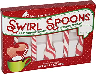 product image for Original Gourmet Candy Cane Swirl Spoons