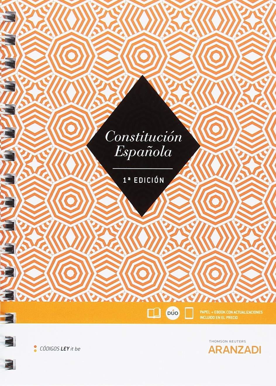 Constitución Española (Código Básico): Amazon.es: Aranzadi, Departamento de Redacción: Libros