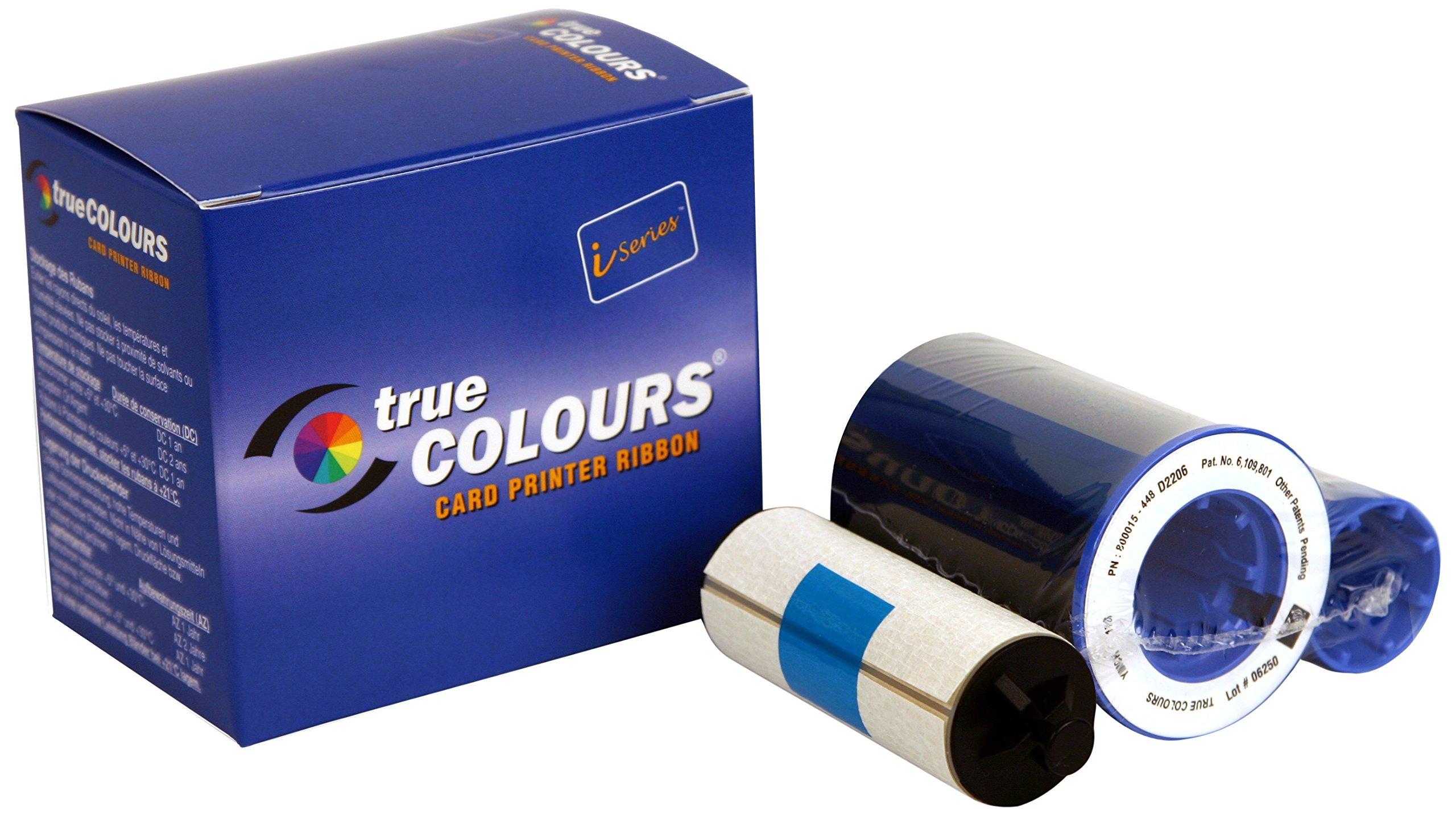 Zebra TrueColours - 800015-540 -Print ribbon black, yellow, cyan, magenta, transparent - 330 images