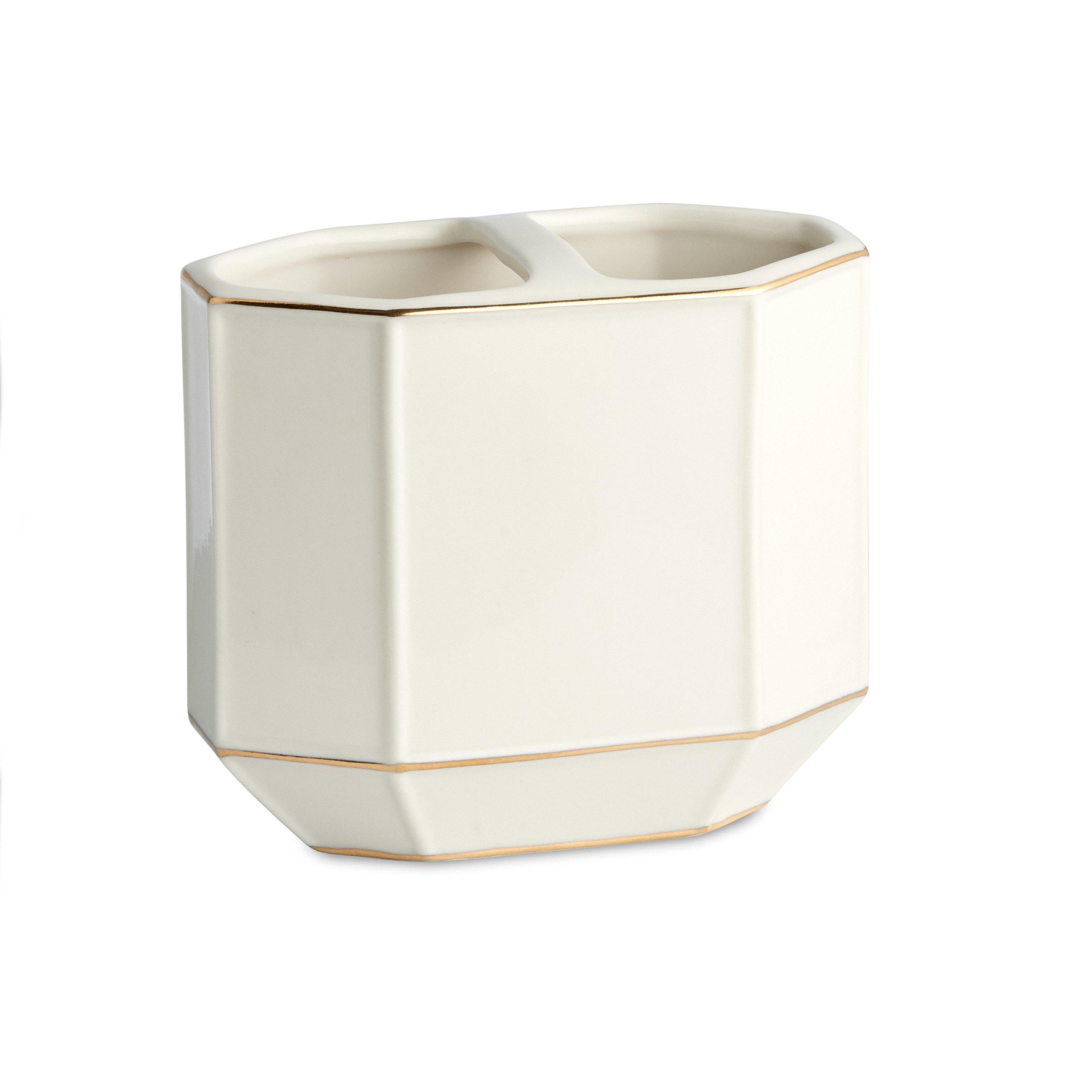 Toothbrush Holder, Kassatex St. Honore Bath Accessories | Porcelain