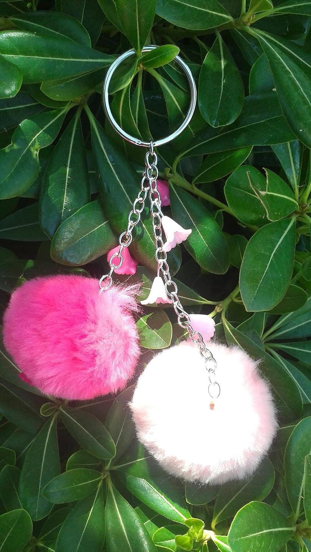 Amazon.com: pompon y flores: Handmade
