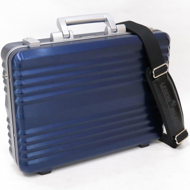 (レジェンドウオーカー) LEGEND WALKER 6604-42 PC100% B4用紙収納可能アタッシュケース 42cm B01N76O4L6 ネイビー
