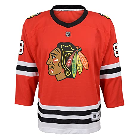 Amazon.com   Outerstuff NHL Chicago Blackhawks Youth Boys Replica ... 24fe4fa20