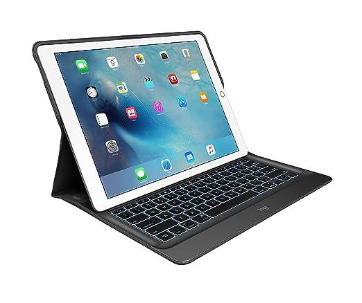"""17 opinioni per Logitech Create iPad Pro da 12,9"""" Custodia con Tastiera Wireless Retroilluminata"""