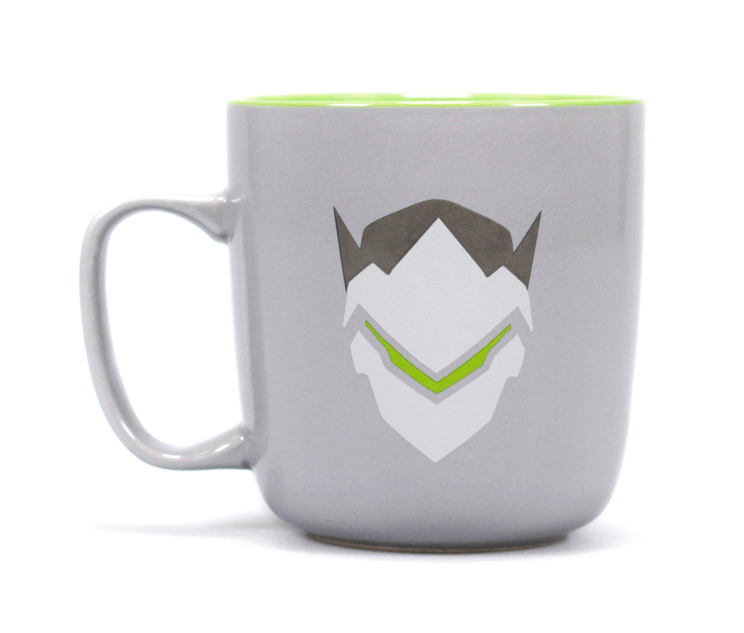 Half Moon Bay Overwatch Mug, Ceramic, Grey, 300 ml - 11,5 (w) x 9,5 (h) x 9 (d) cm