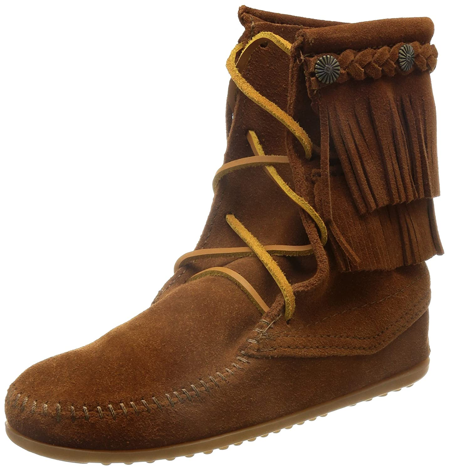 Brown Minnetonka Women's Ankle Hi Tramper Boot