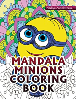 Mandala Minions Coloring Book Part 1
