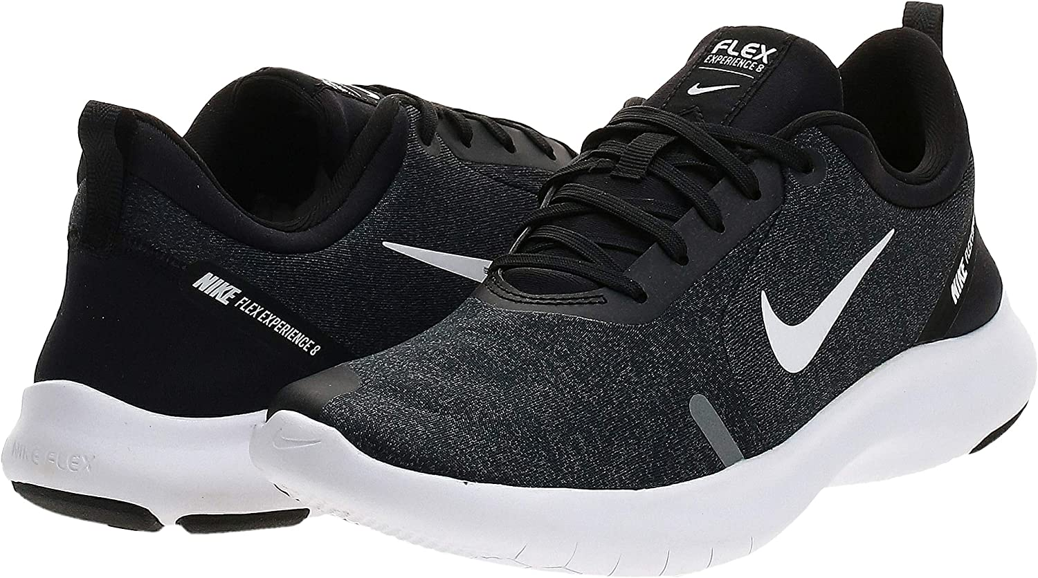 Nike Wmns Flex Experience RN 8, Zapatillas de Running para Asfalto para Mujer, Multicolor (Black/White-Cool Grey-Reflect Silver 013_Black/White Grey), 41 EU: Amazon.es: Zapatos y complementos