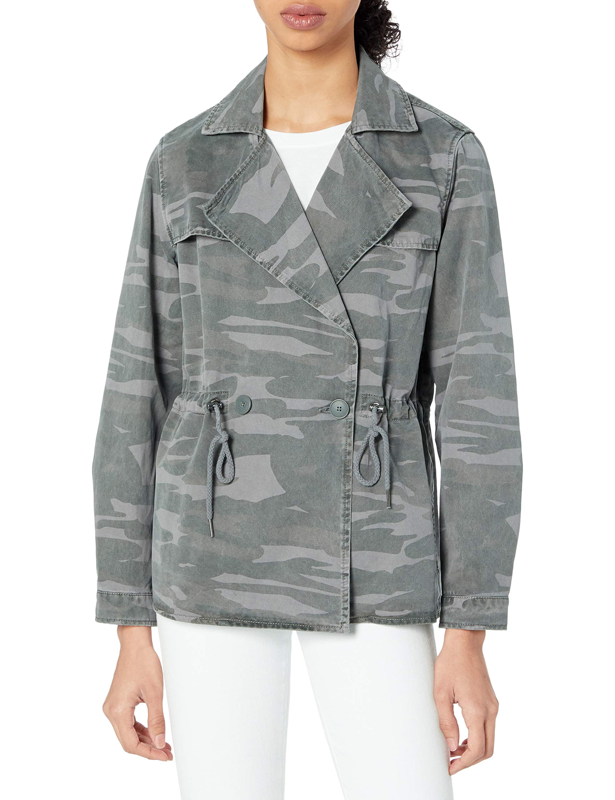 Lucky Brand Women's Cropped Trench Coat
