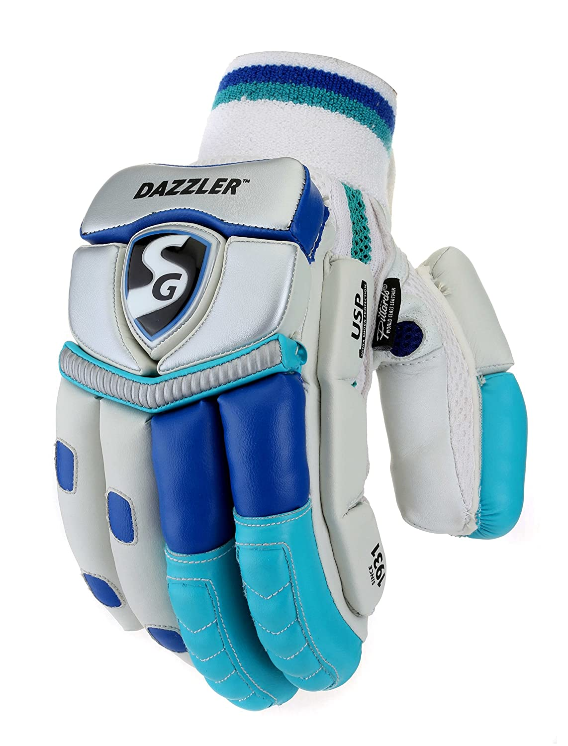teal batting gloves