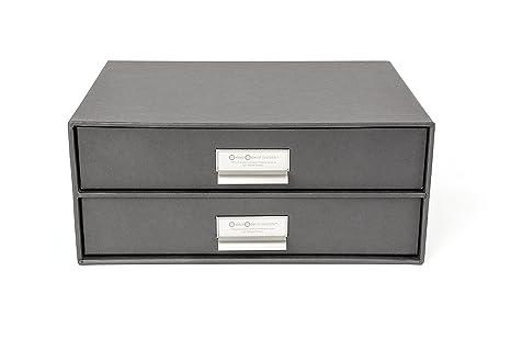 Bigso 2-Drawer Birger File Storage Box Dark Grey  sc 1 st  Amazon.com & Amazon.com: Bigso 2-Drawer Birger File Storage Box Dark Grey ...