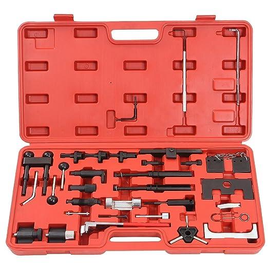 LARS360 Motor instell Herramientas de bloqueo herramientas correa dentada Juego de herramientas Herramientas de ajuste de motor para Audi Volkswagen ...