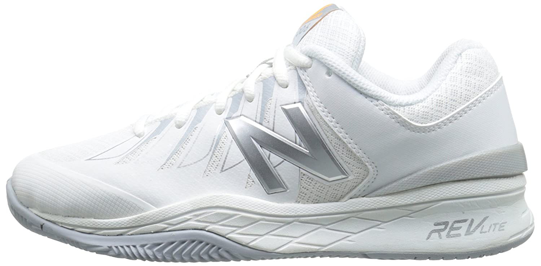 New Shoe Balance Women's WC1006v1 Tennis Shoe New B00V3NH9BG 11 2A US|White/Silver 111828