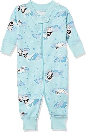 Moon and Back by Hanna Andersson Pijama sin pies de algodón orgánico de una Sola Pieza Unisex bebé