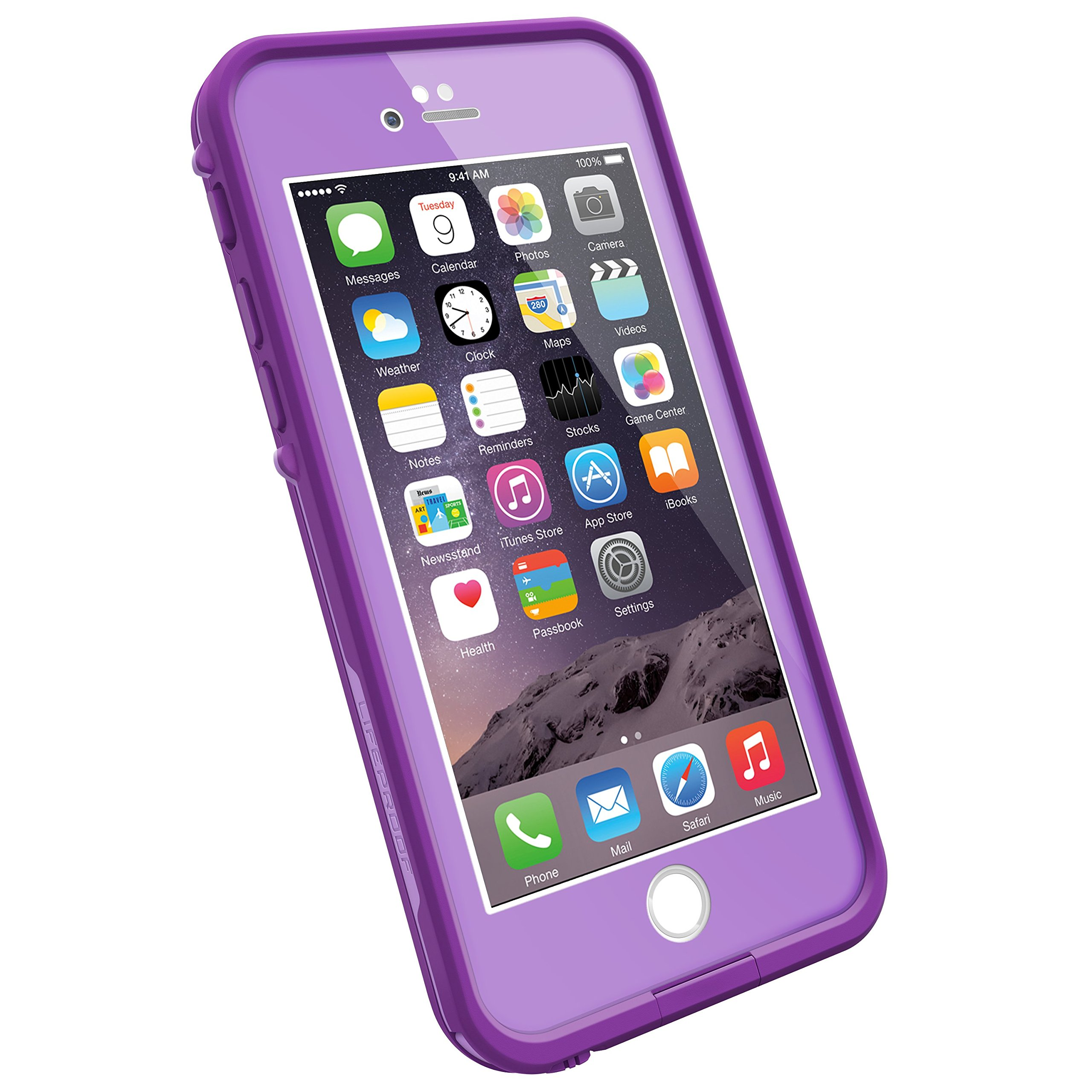 LifeProof FRE iPhone 6 ONLY Waterproof Case (4.7'' Version) - Retail Packaging - PUMPED PURPLE (LIGHT LILAC/DARK LILAC)