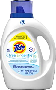 Tide Free & Gentle Liquid Laundry Detergent