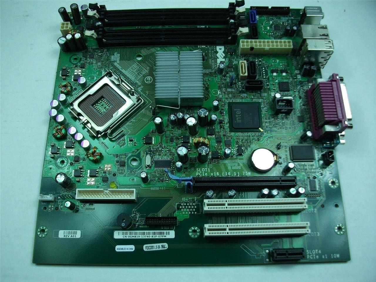 Dell Optiplex GX755 small minitower motherboard - MP621