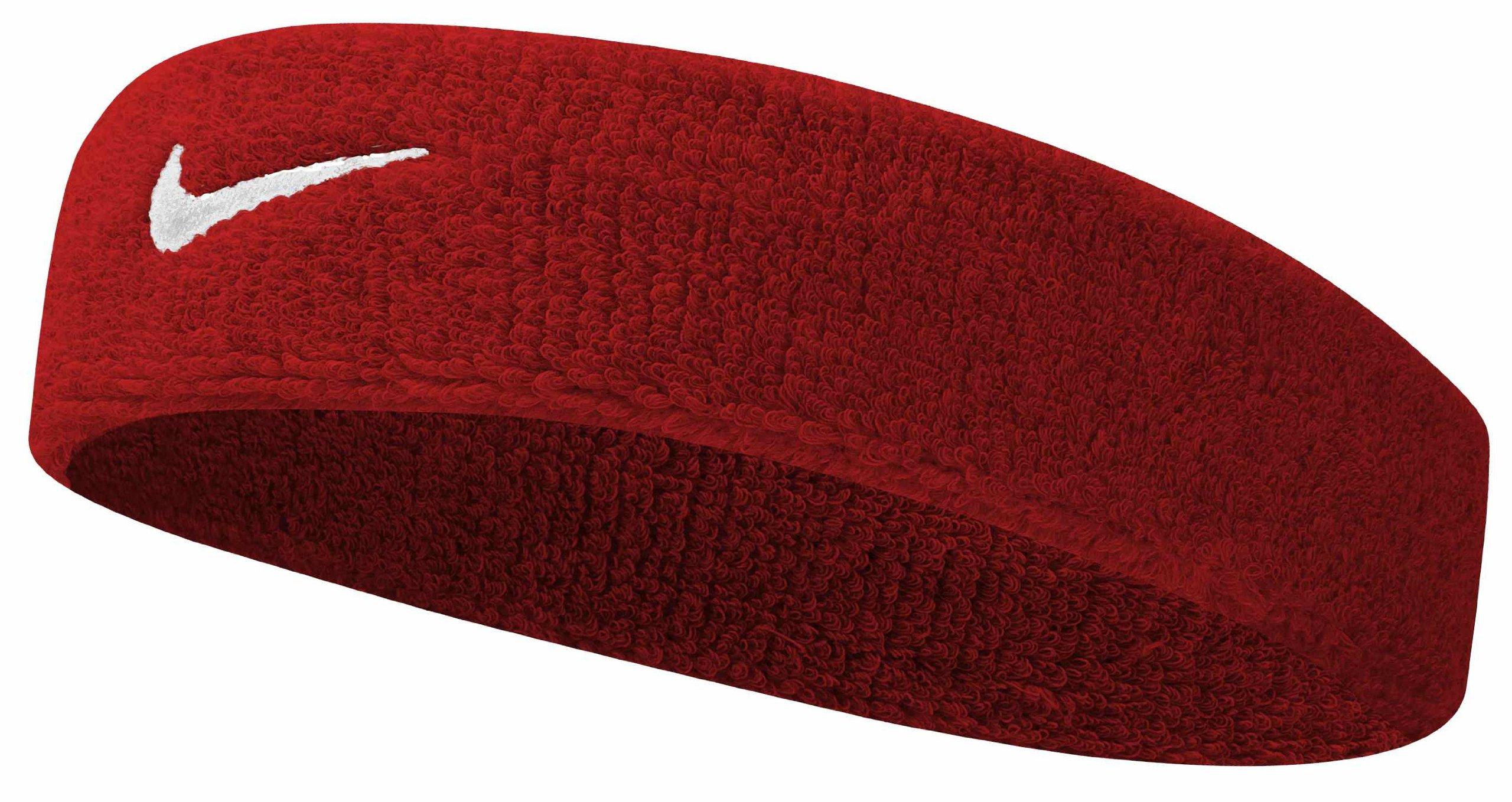 Nike Swoosh Headband (Varsity Red/White, Osfm) by Nike (Image #2)