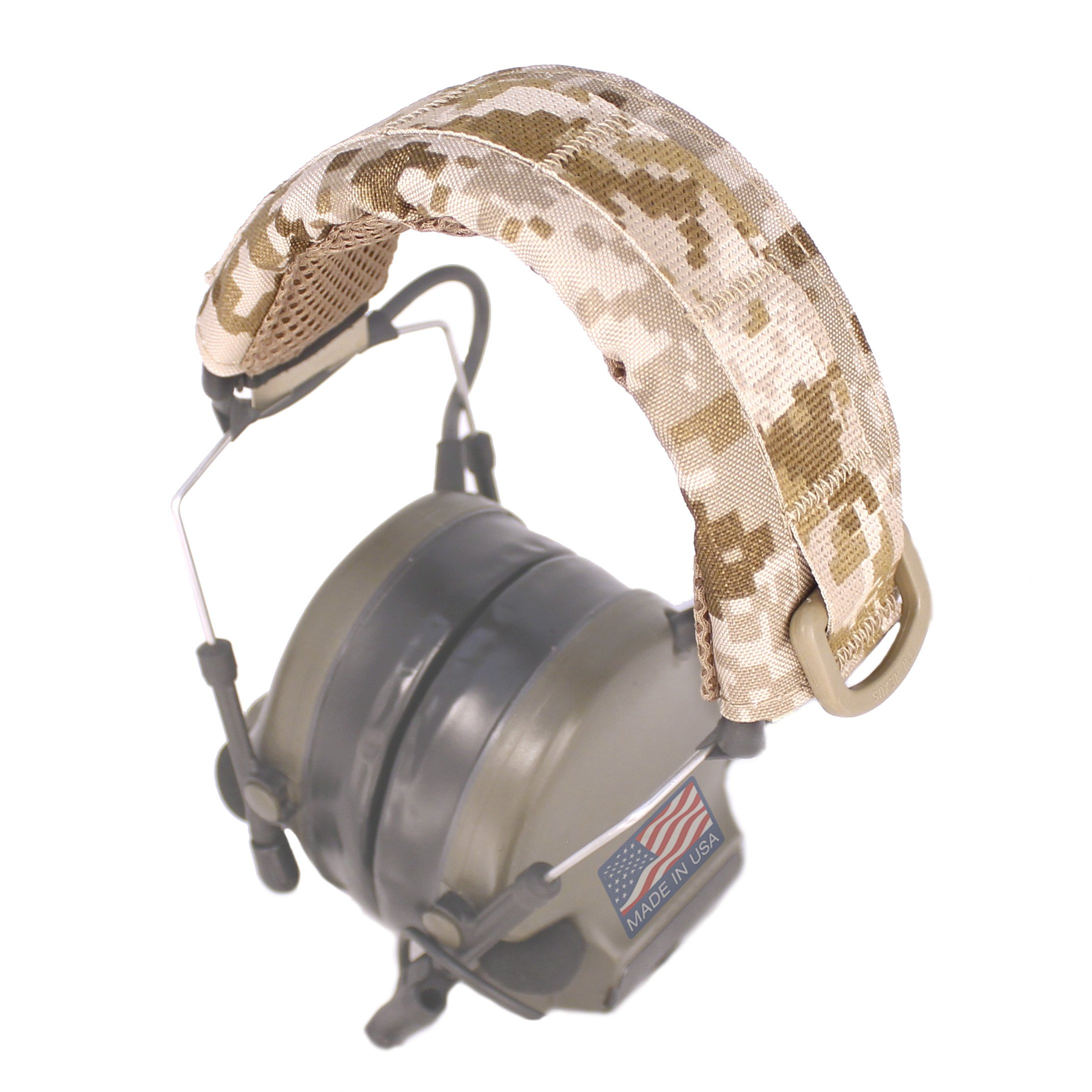 U.S. Tactical Sewing USTS Advanced Modular Headset Cover (Digital Desert) by U.S. Tactical Sewing