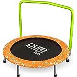 "Pure Fun Kids 36"" Foldable Kids Mini Trampoline"