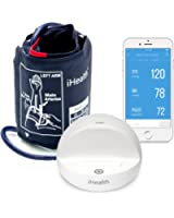 iHealth Ease Wireless Blood Pressure Monitor for Apple and Android (Standard Cuff)