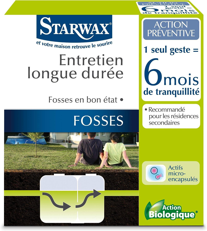 Entretien hebdomadaire pour fosses septiques Starwax